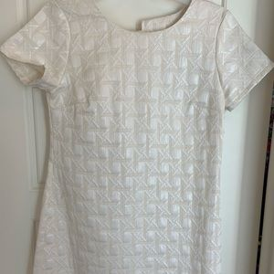 Xhilaration white dress, size small